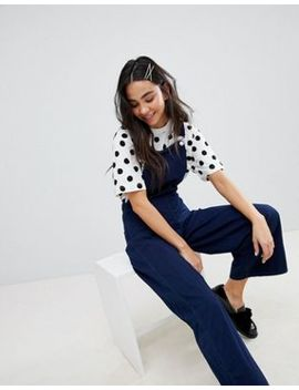 Monki Polka Dot Tee by Monki