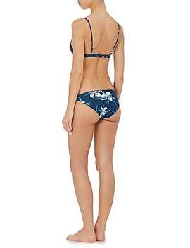 Zuma Floral Bikini Bottom by Mikoh