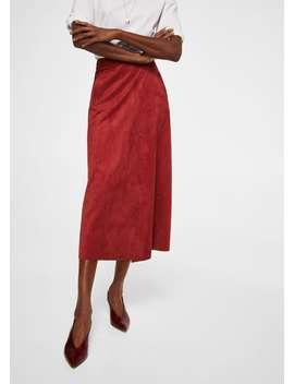 Zakładana Spódnica Midi by Mango
