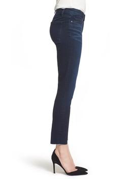 Transcend Vintage   Skyline Crop Skinny Jeans by Paige