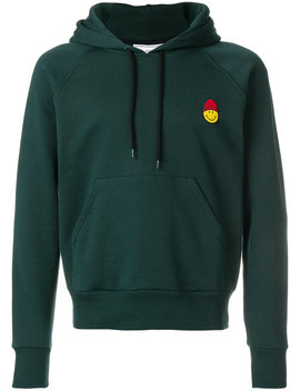 Sweatshirt With Patch Smiley by Ami Alexandre Mattiussi