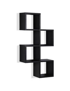 Cubby Chessboard Wall Shelf   Black   Danya B. by Danya B.