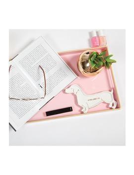 Plastic Tray   Pink by 8 Oak Lane