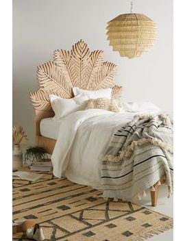 Carved Frond Bed by Anthropologie