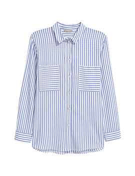 H&M+ Cotton Shirt by H&M