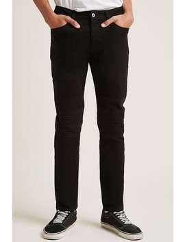 Moto Slim Fit Jeans by F21 Contemporary