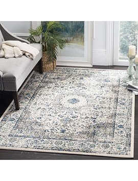 Safavieh Evoke Collection Evk220 D Vintage Oriental Grey And Ivory Area Rug (8' X 10') by Safavieh
