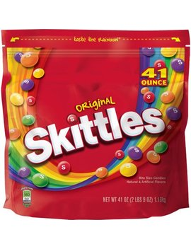 Skittles Original Candy Bag, 2 Pounds 9 Oz by Skittles