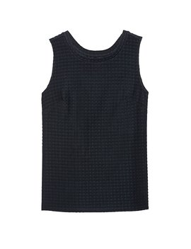 Gingham Tank by Banana Repbulic