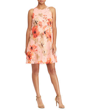 Floral Georgette Dress by Lauren Ralph Lauren