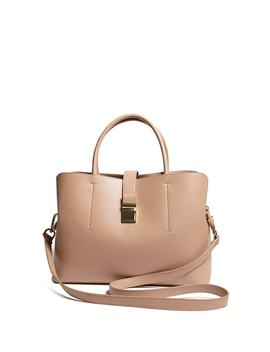 Faux Leather Mini Satchel by F21 Contemporary