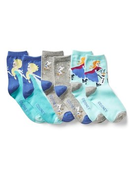 Gap Kids | Disney Frozen Socks (3 Pack) by Gap