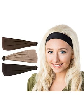 Hipsy Women's Adjustable Cute Fashion Headbands Hairband Gift Pack by Hipsy