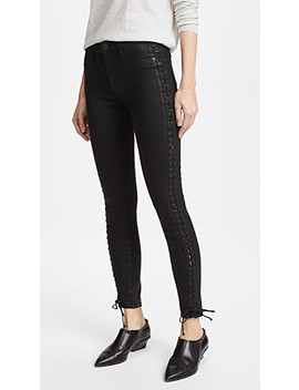 Stevie Lace Up Skinny Jeans by Hudson