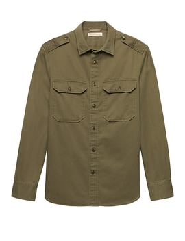 Heritage Camden Standard Fit Expedition Shirt Jacket by Banana Repbulic