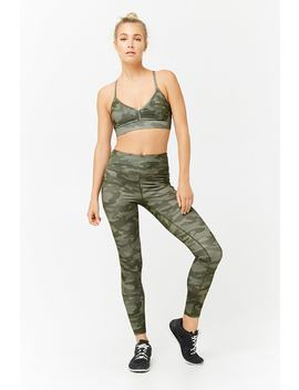 Active Camo Leggings by Forever 21