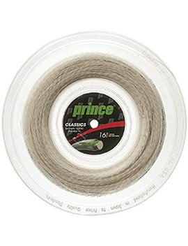 Prince Synthetic Gut With Duraflex 16g White Tennis String Reel by Prince Sports