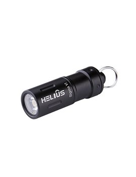 Mini Rechargeable Led Keychain Flashlight   Small Usb 130lumen Waterproof Bright Led Flashlight With 2 Modes Including Rechargeable Battery, Micro Usb Cable, Waterproof O Rings And O Ring (Black) by Helius