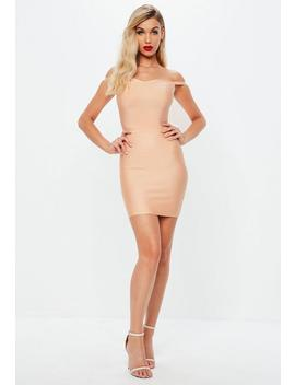 Pink Sweetheart Bandage Bodycon Dress by Missguided