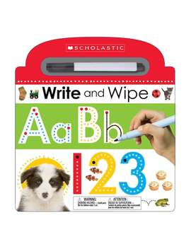 Write & Wipe Abc Board Book by Kohl's