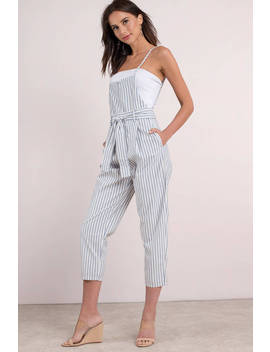 Free People Isabelle Pegged Multi One Piece Jumpsuit by Tobi