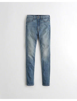 Stretch Ultra High Rise Super Skinny Jeans by Hollister