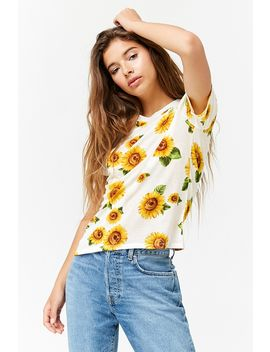 Sunflower Graphic Tee by Forever 21