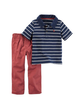 Carter's 2 Pc. Polo Pant Set Boys by Carters