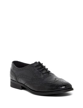 Pink Wingtip Oxford by Not Rated