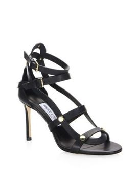Open Toe Strappy Sandals by Jimmy Choo