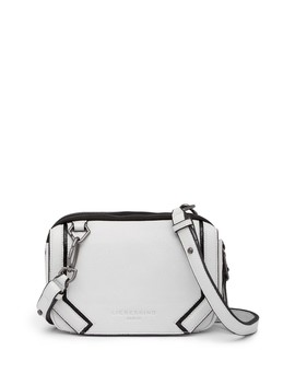 Contrast Piped Leather Crossbody Bag by Liebeskind Berlin