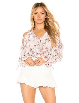 Laurenne Long Sleeve Blouse by Bcbgmaxazria