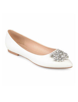 Journee Collection Renzo Womens Ballet Flats by Journee Collection