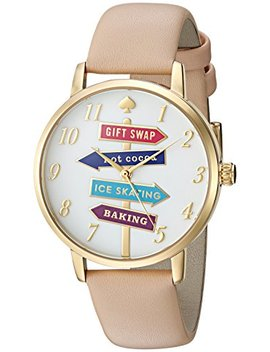 Kate Spade New York Women's Metro Brown Watch Ksw1215 by Kate Spade+New+York