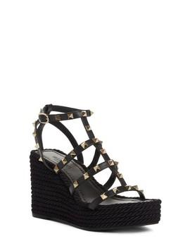 Valentino Torchon Wedge Platform Sandal by Valentino Garavani