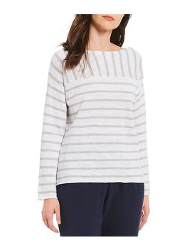Bateau Neck Top by Eileen Fisher