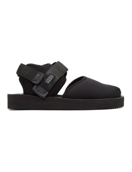 Black Bita V Sandals by Suicoke