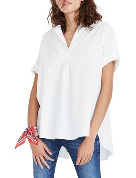Courier Button Back Shirt by Madewell