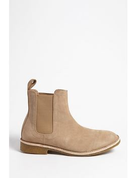 Men Foundation Faux Suede Chelsea Boots by Forever 21