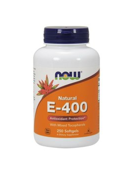 Now  E 400 Vitamin E 400 Iu Mt Softgels With Mixed Tocopherols, 250 Softgels by Now Foods