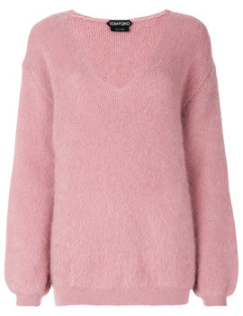 V Neck Jumper by Tom Ford