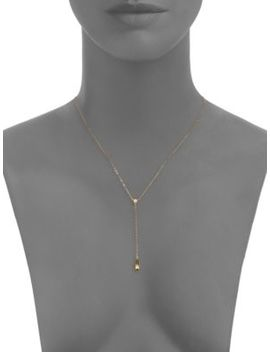 Cubic Zirconia Accented Lariat Necklace by Nadri