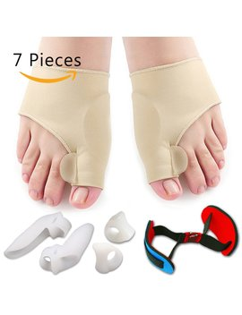 Bunion Corrector & Bunion Relief Protector Sleeves Kit   Treat Pain In Hallux Valgus, Big Toe Joint, Hammer... by Flyen