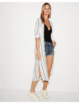 Stripe Duster by Express