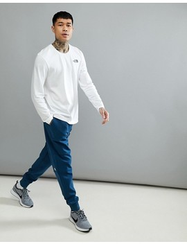 The North Face Fine 2 Cuffed Joggers In Blue by The North Face