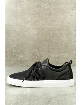 Daybreaker Black Sneakers by Lulu's