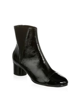 Izette Patent Leather Bootie by Rebecca Minkoff