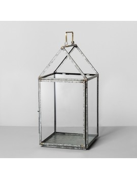Galvanized House Lantern Large   Hearth & Hand™ With Magnolia by Hearth & Hand™ With Magnolia