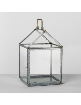 Galvanized House Lantern Medium   Hearth & Hand™ With Magnolia by Hearth & Hand™ With Magnolia