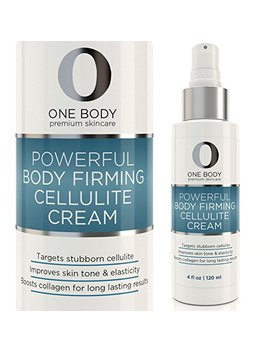 Anti Cellulite Cream   Best Treatment For Smoothing And Firming Skin With Caffeine And Shea... by One Body Skincare
